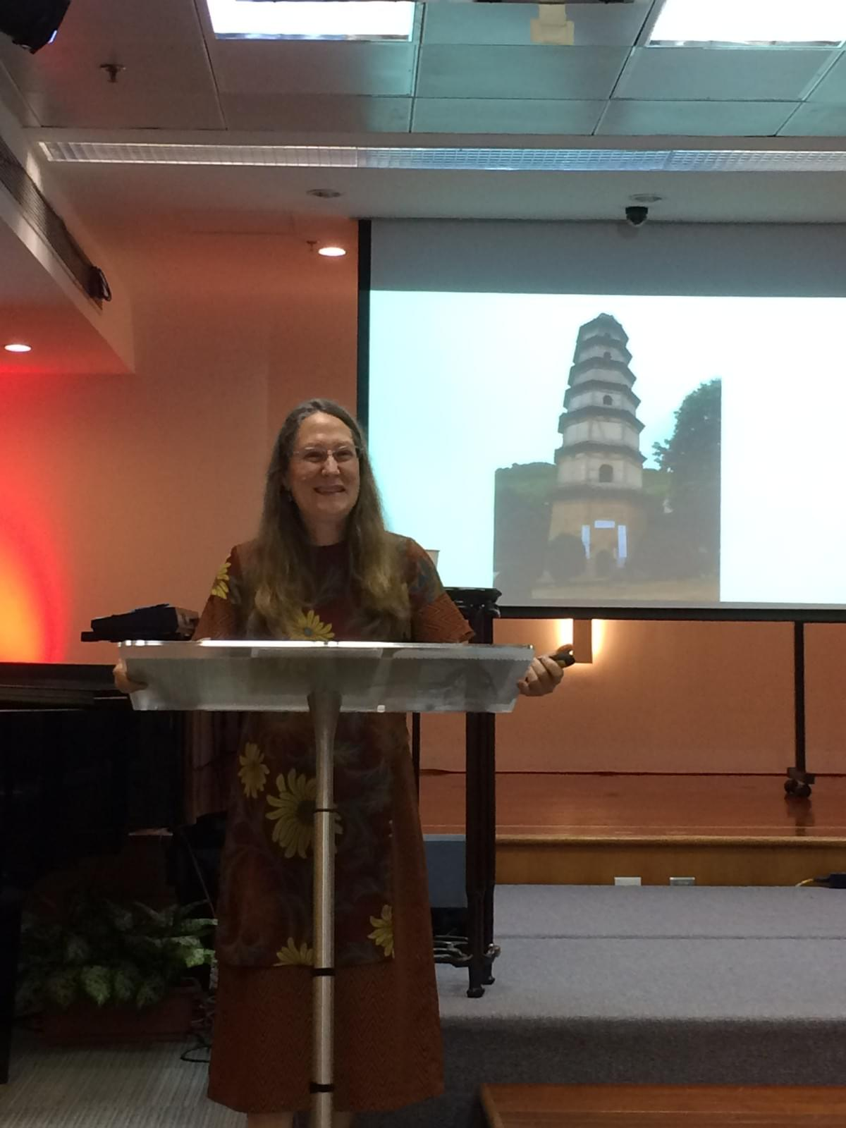 Dr. Carolyn SCHNEIDER (LTS) at International Baptist Church in Hong Kong