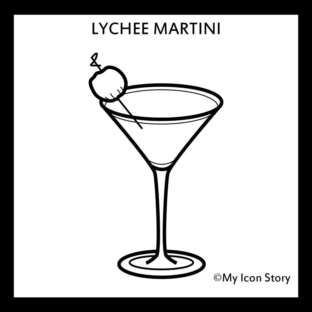 my icon story, sallee poinsette-nash, founder story, lychee martini, icon