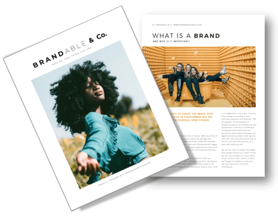 Brandable & Co, Brandable and co, Brandableandco, Brandable, Personal Branding, Personal Brand, Human Brands, Humanness, Change career
