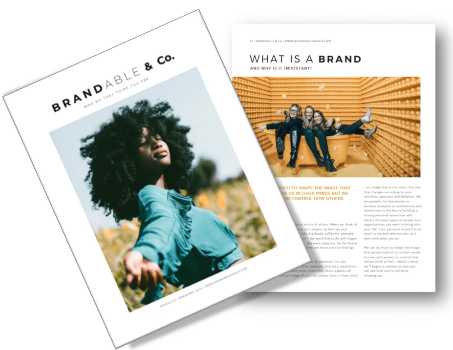 Brandable & Co, Brandable and co, personal brand, personal branding, human brand, human brands, career, thought leaders, influencers