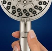Waterpik Dual Power Pulse Massage Shower Head (Brushed Nickel)