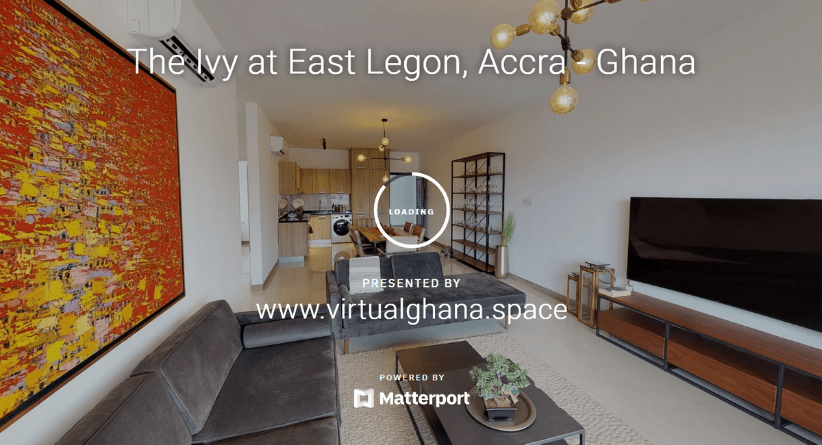 This picture is a screenshot of what the 3D walk through of the Two Bedroom or the One Bedroom at the Ivy looks like.