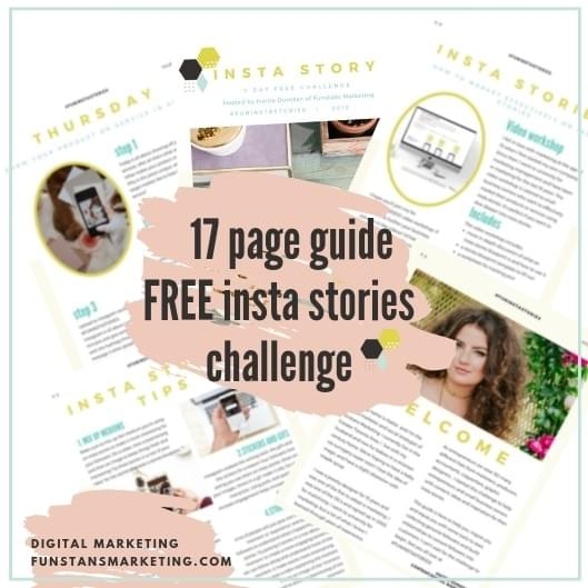 free 17 page guide to creating better insta stories for your business