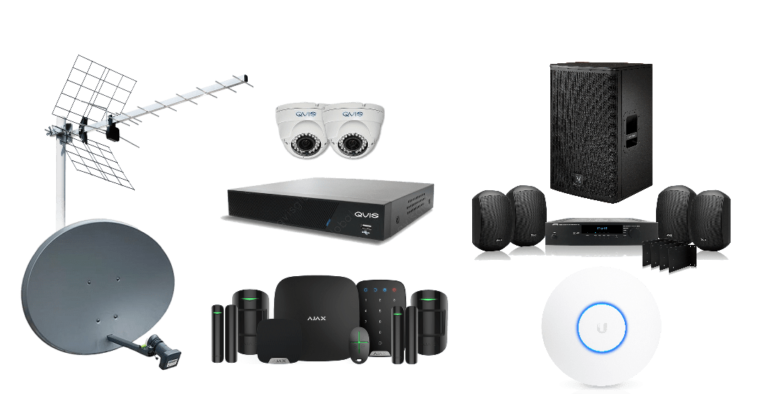 digital aerials, satellite, WiFi and TV solutions