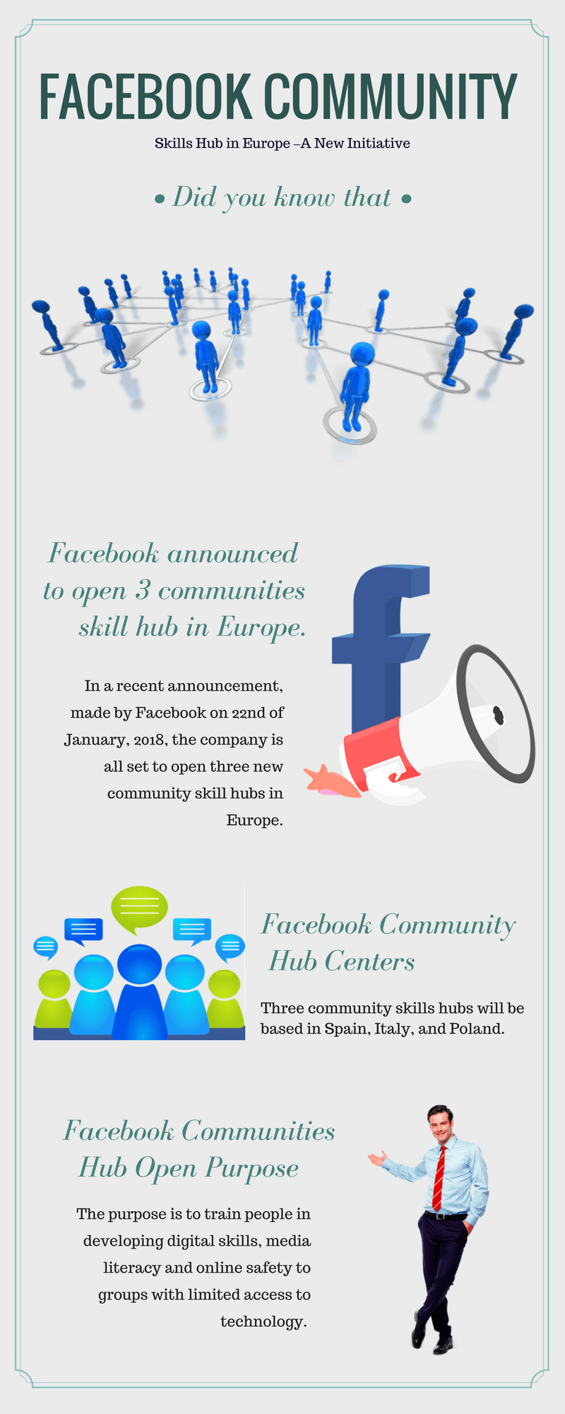 Community Skills Hub in Europe from Facebook – A New Initiative