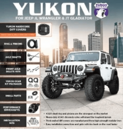 Yukon Gear Kits, Yukon Jeep Kits