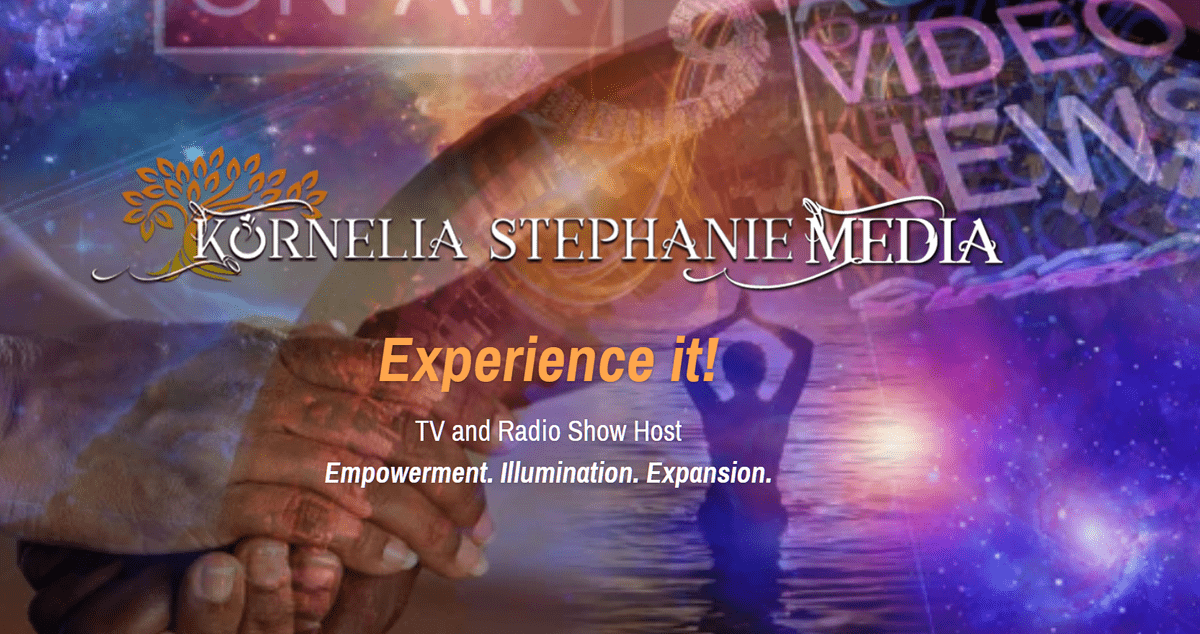 Kornelia Stephanie - TV & Radio & Podcast Media Star, Media Mentor, Spiritual Teacher