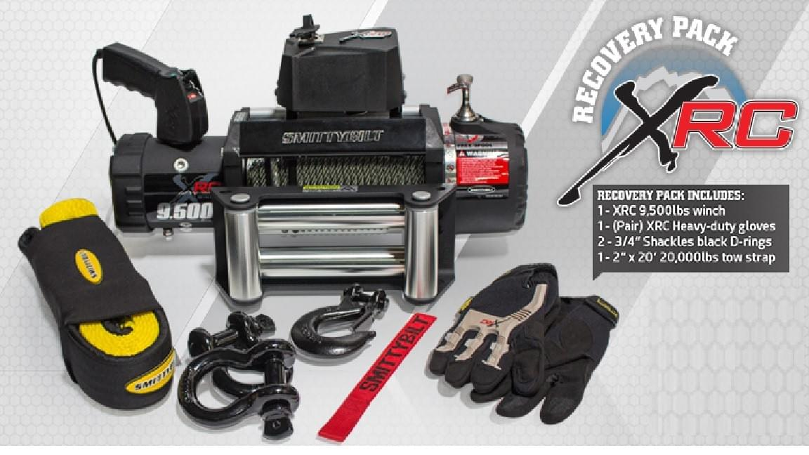 smittybilt winch, 4x4 winch, 2x4 winch, Smittybilt xerc 9500 winch, Jeep Parts, Jeep Accessories