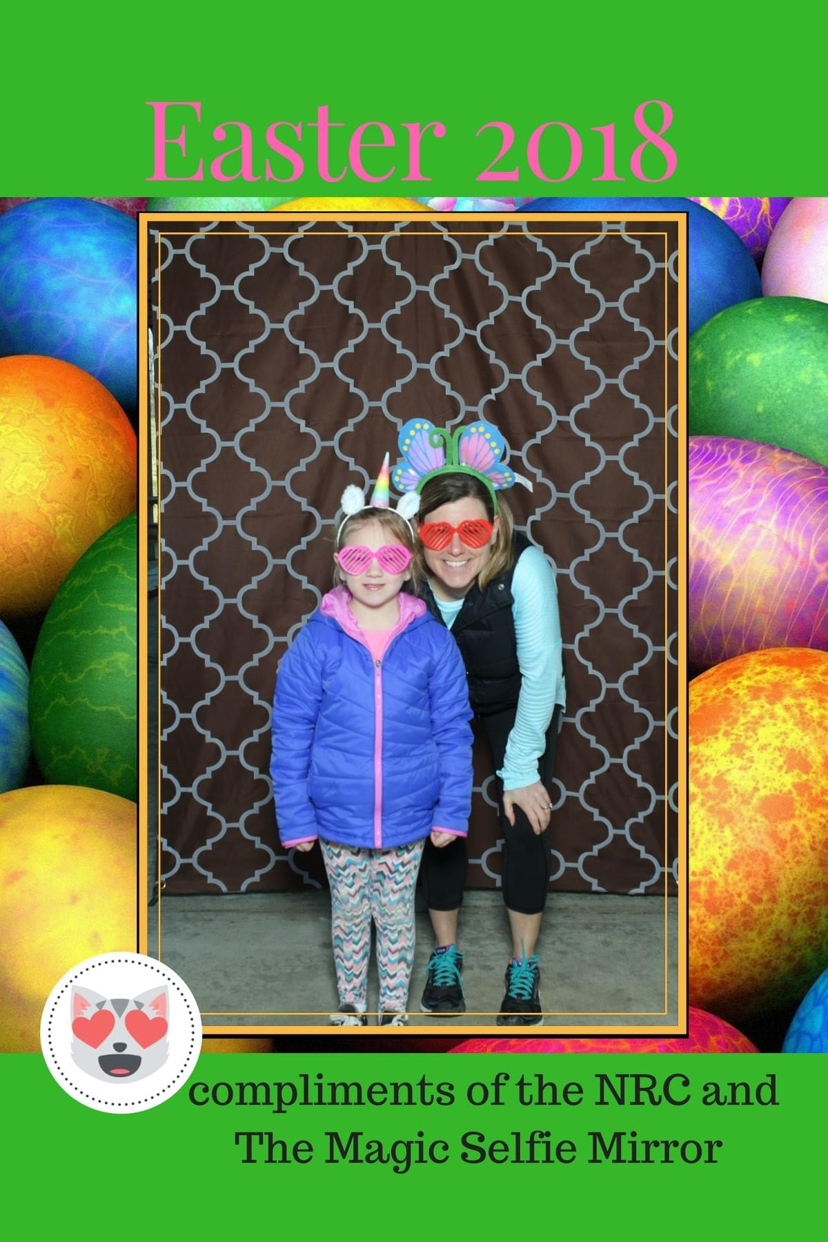 Easter fun with the Magic Selfie Mirror Photo Booth