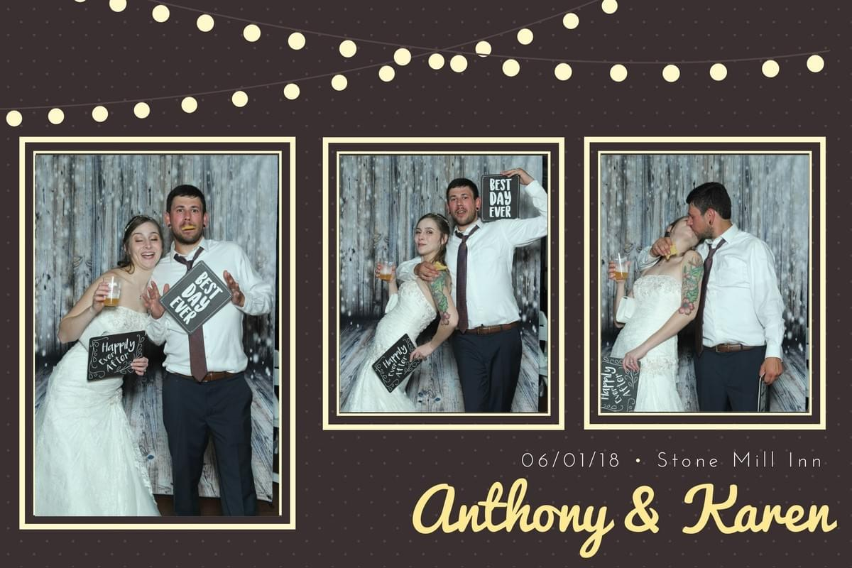 Stone Mill Inn and the Magic Selfie Mirror Photo booth rental