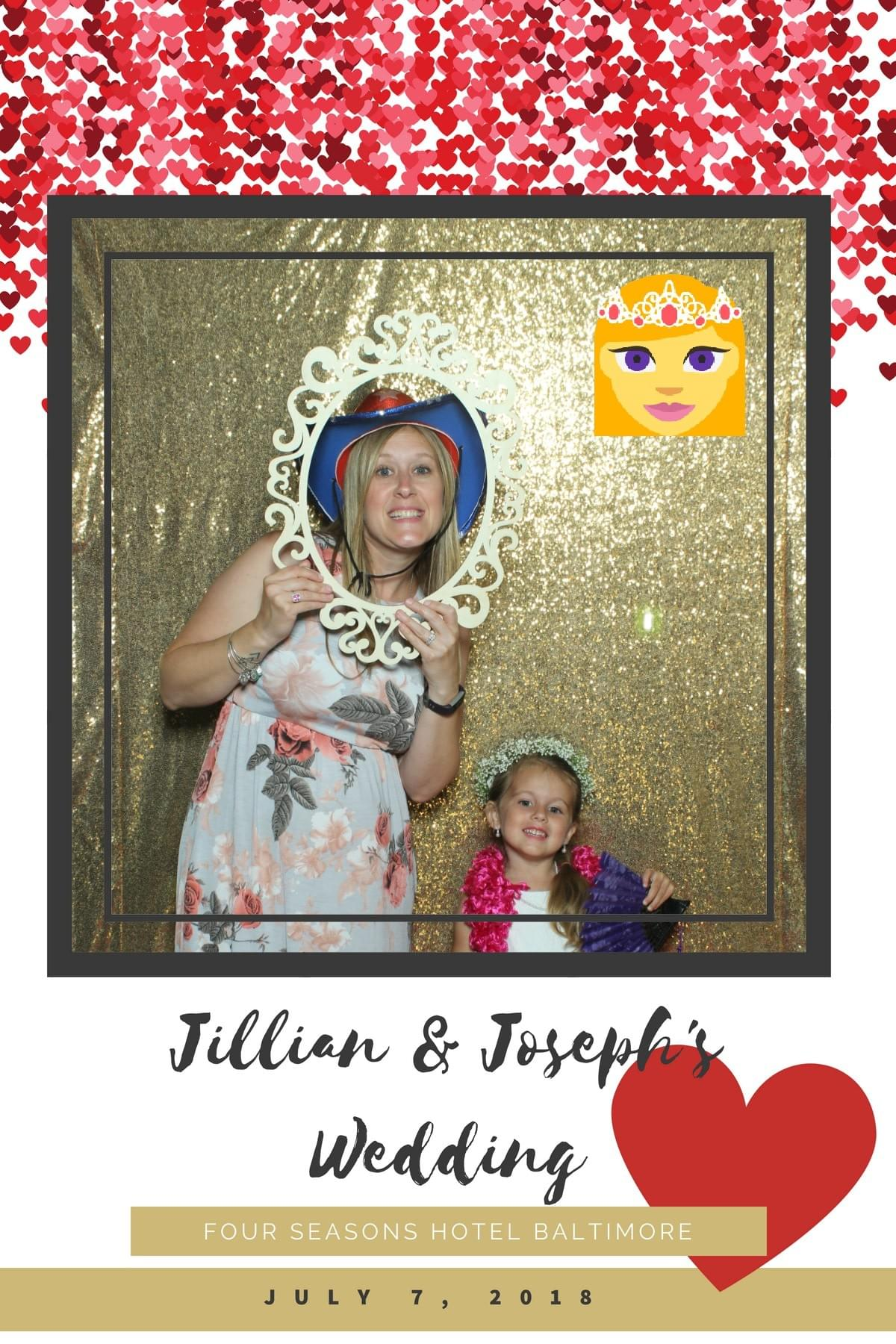 July Weddings with the Magic Selfie Mirror Photo Booth