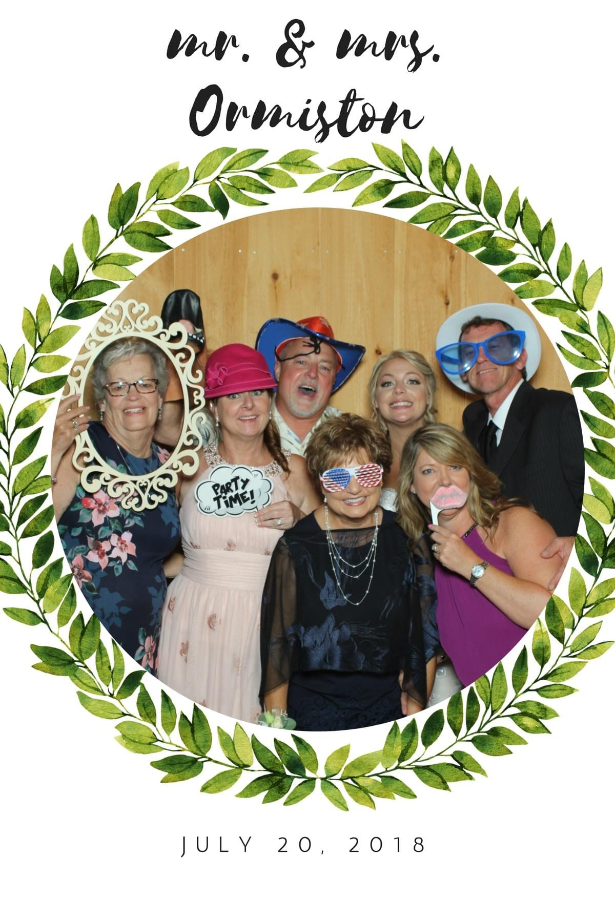 Fun for all ages with the Magic Selfie Mirror Photo booth in Maryland