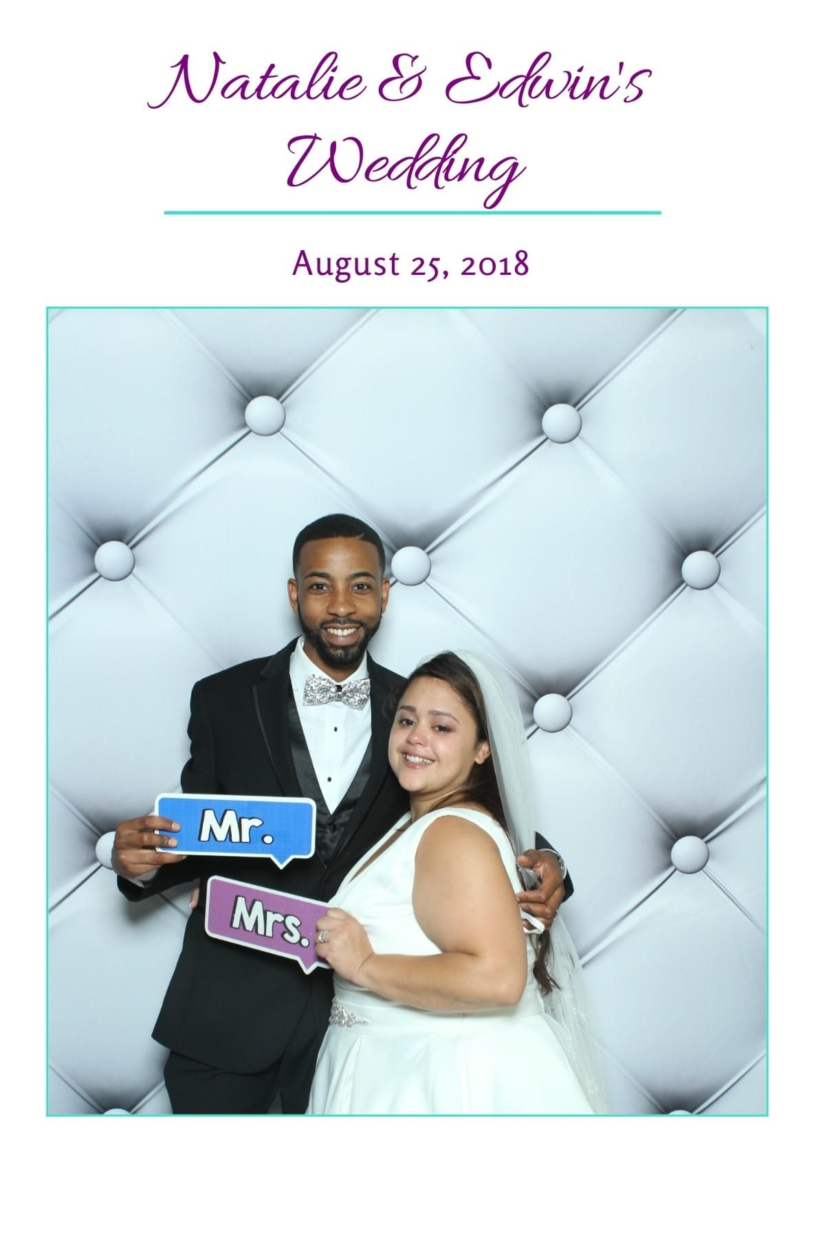 The Magic Selfie Mirror Photobooth with Wilmington, Delaware weddings