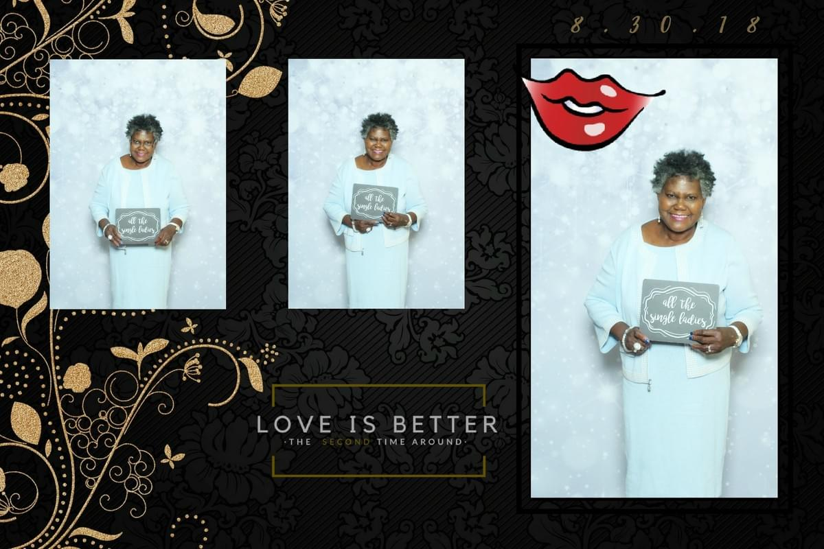The Magic Selfie Mirror - celebrating LOVE - at the Forum Caterers in Baltimore, Maryland