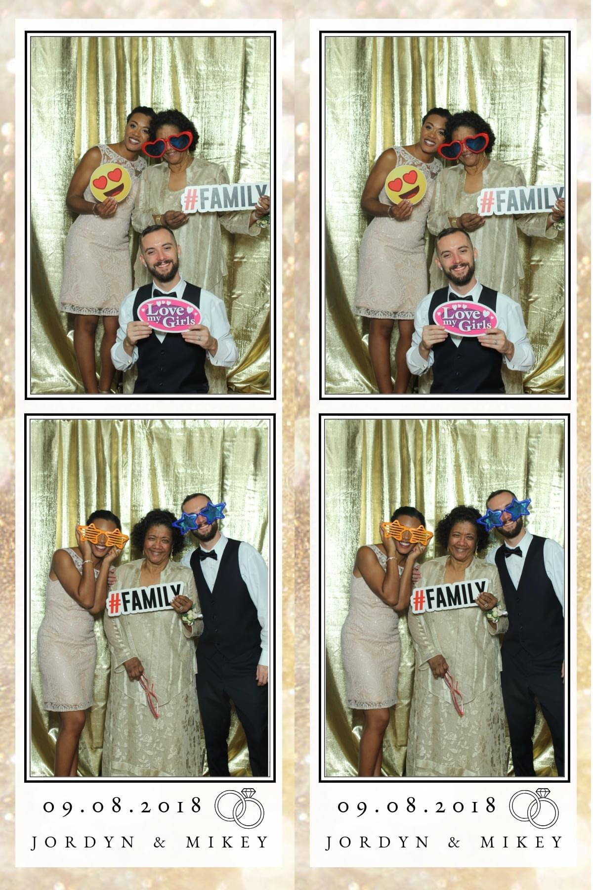 Photo booth fun with The Magic Selfie Mirror in Baltimore, Maryland