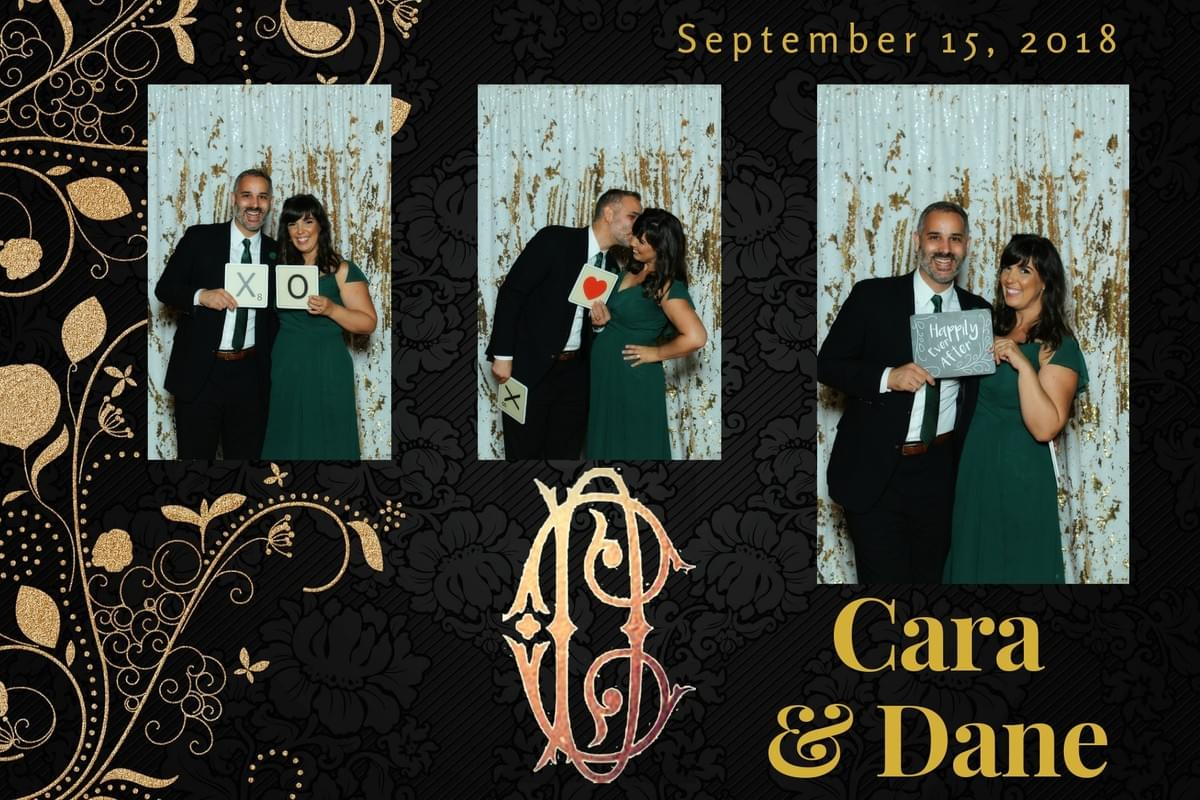 Wedding photo booth fun with The Magic Selfie Mirror