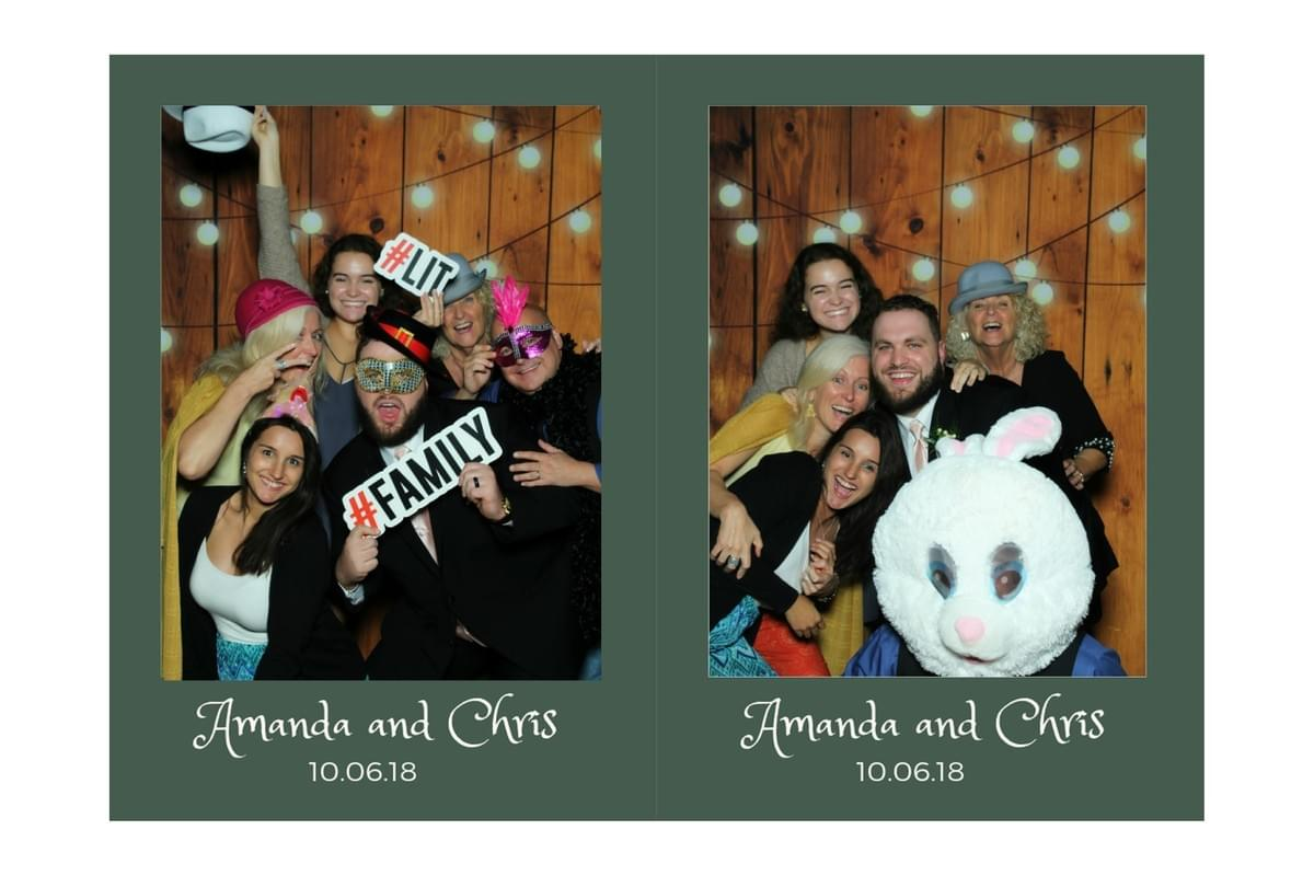 Family fun with a photo booth