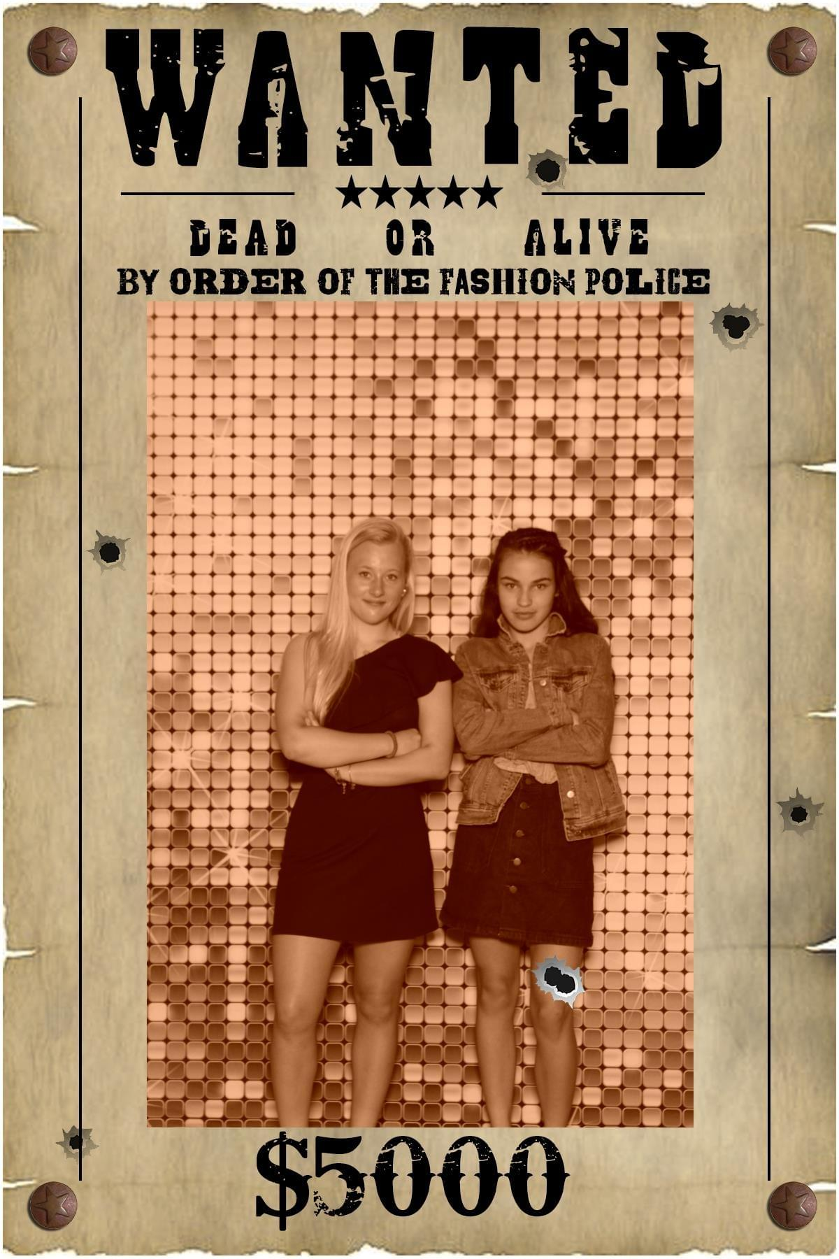 Wanted Poster - Photo booth fun