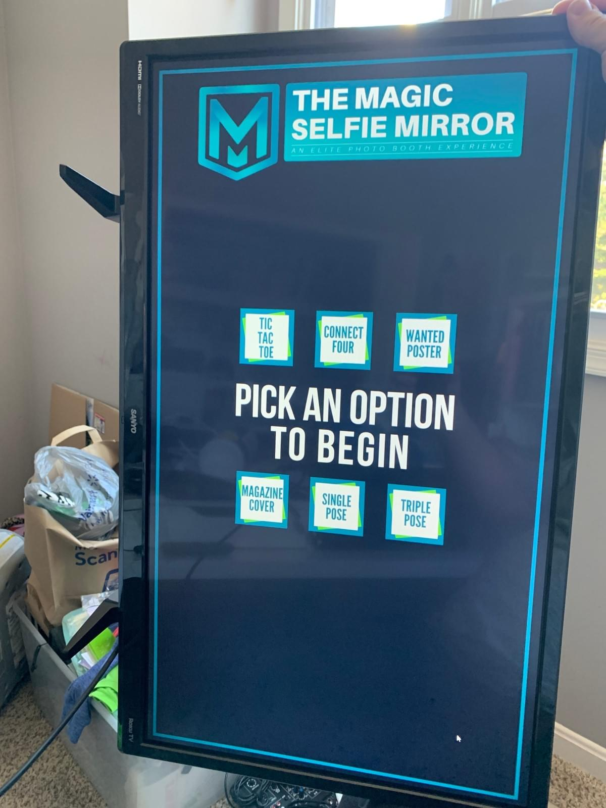 Magic Selfie Mirror Photo Booth Rental Maryland