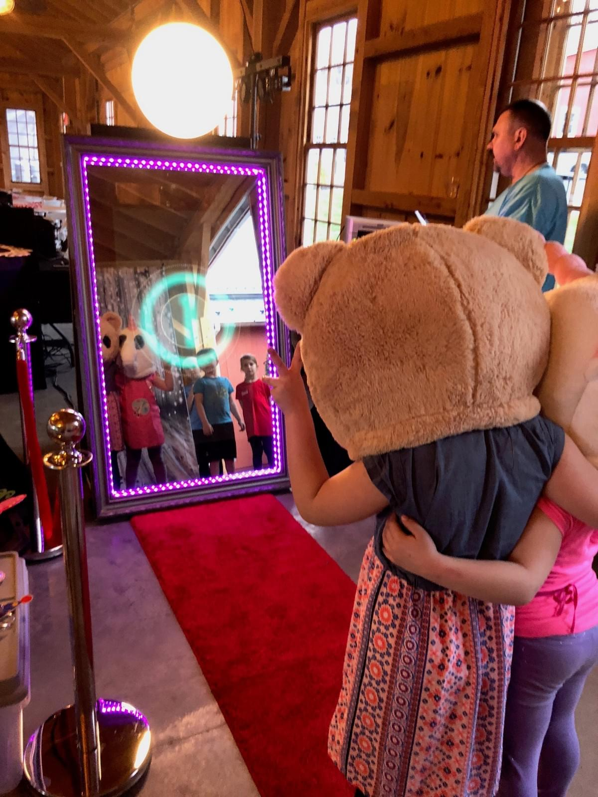 The Magic Selfie Mirror Photo Booth at Pond View Farm