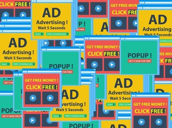 pop-up ads, intrusive, ad models, vs subscription, ads dont work