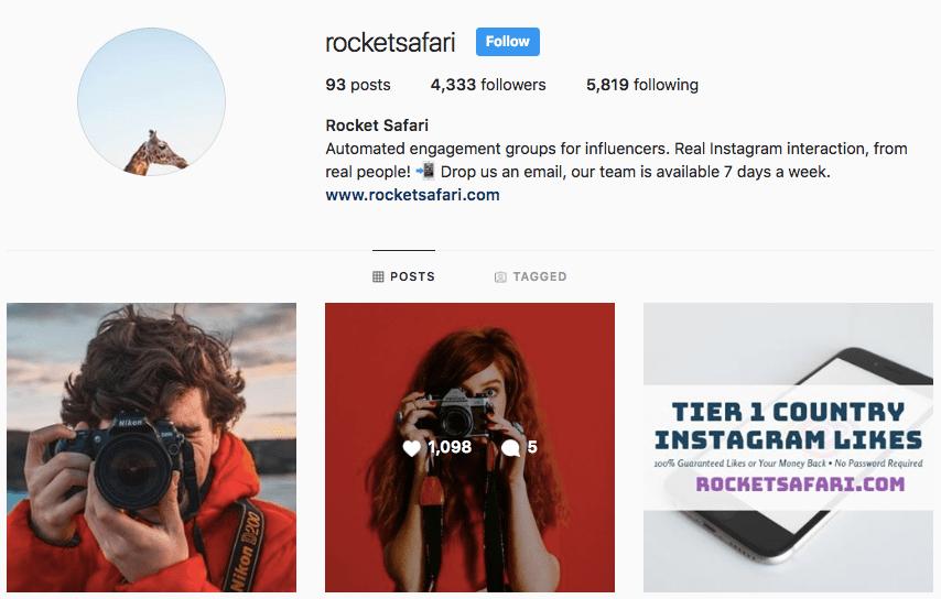 About - RocketSafari • Automated Instagram Engagement Groups