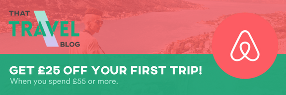 Get £25 off your first Airbnb trip!