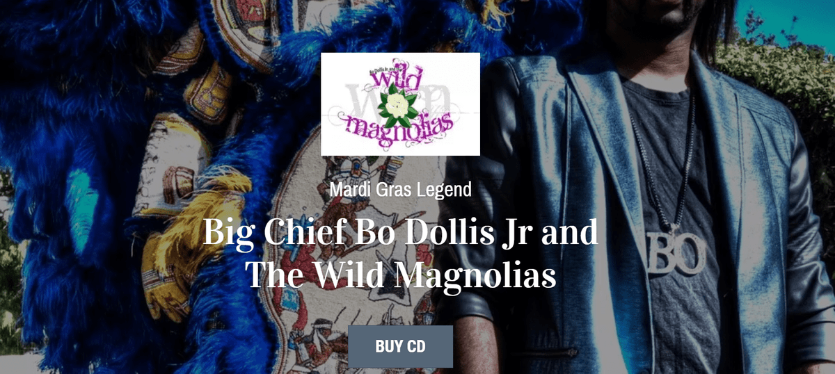Bo Dollis Jr and The Wild Magnolias
