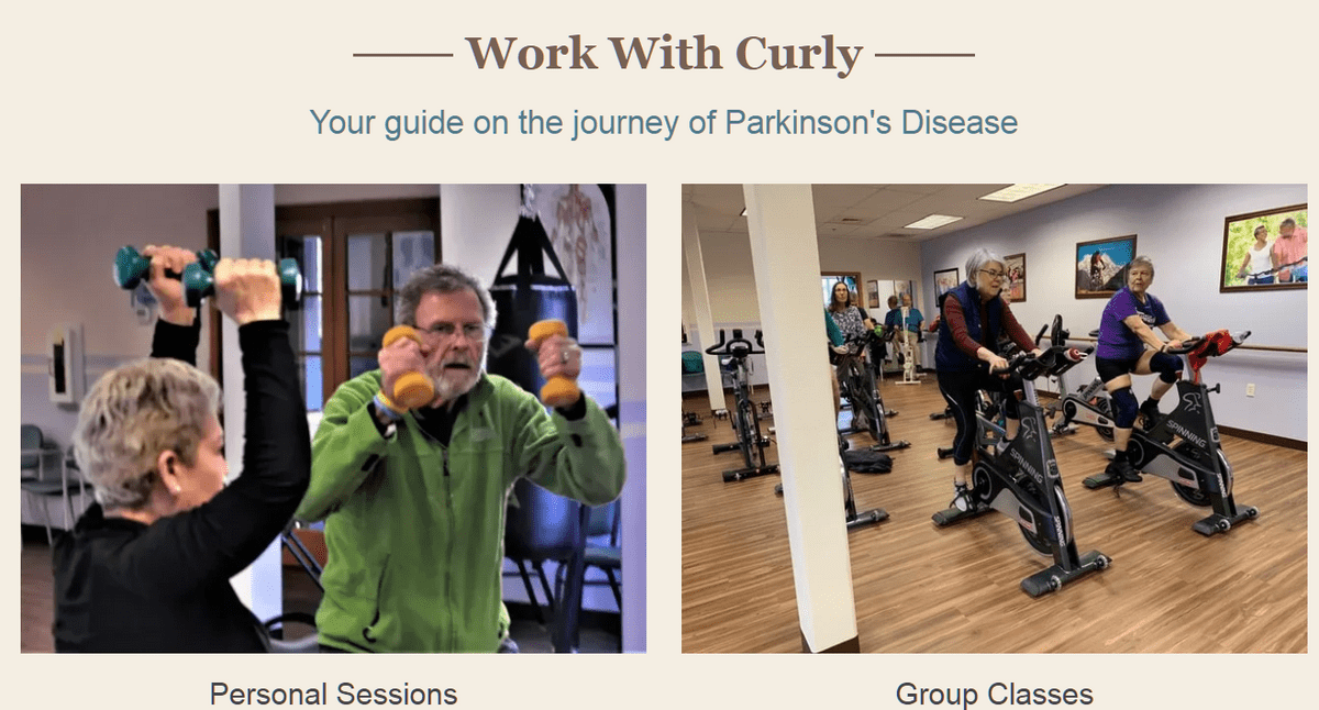 ParkinsonCentral, Curly Dykstra
