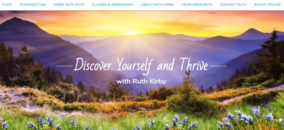 Ruth Kirby, Life Coaching