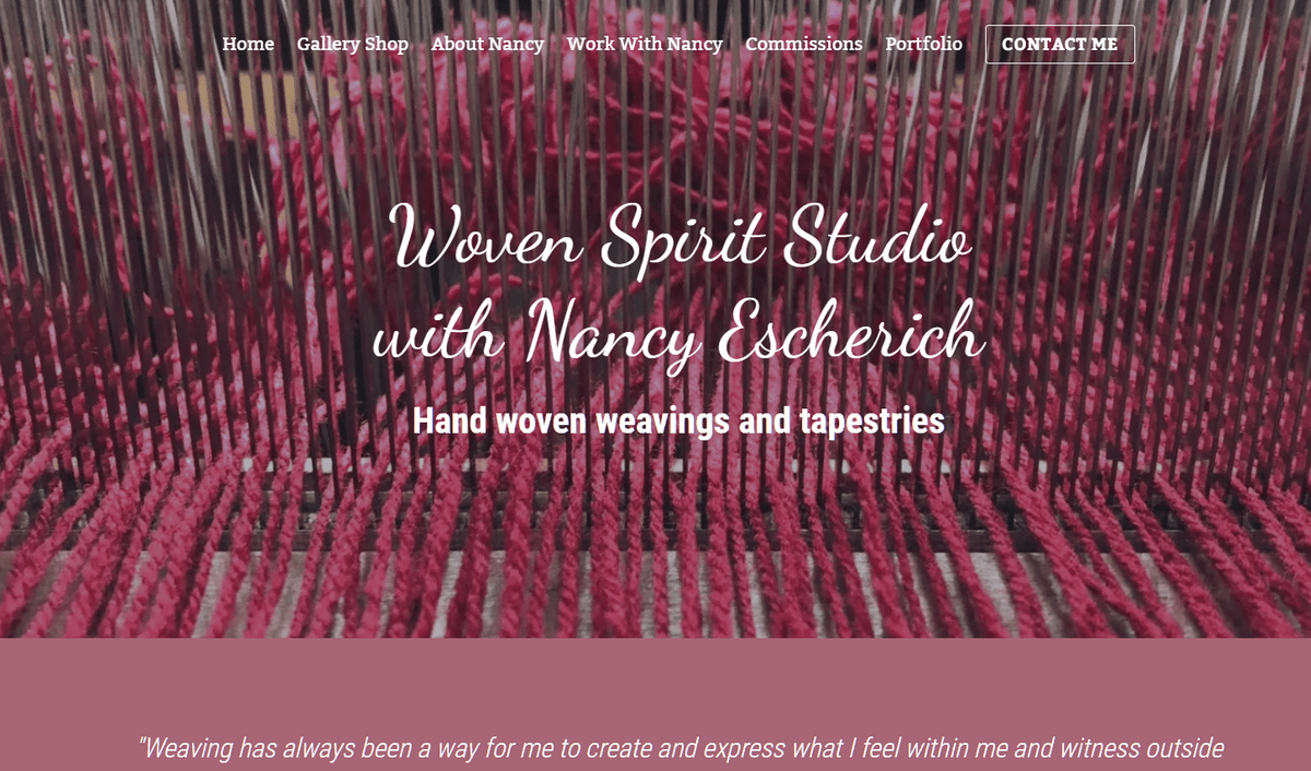 Woven Spirit Studio, Nancy Escherich