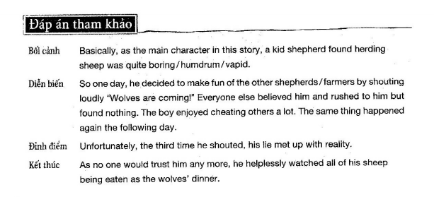 Describe a character in a childhood story
