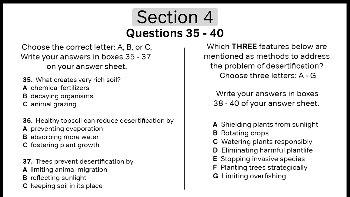 Invasive Species Reading Answers Ielts