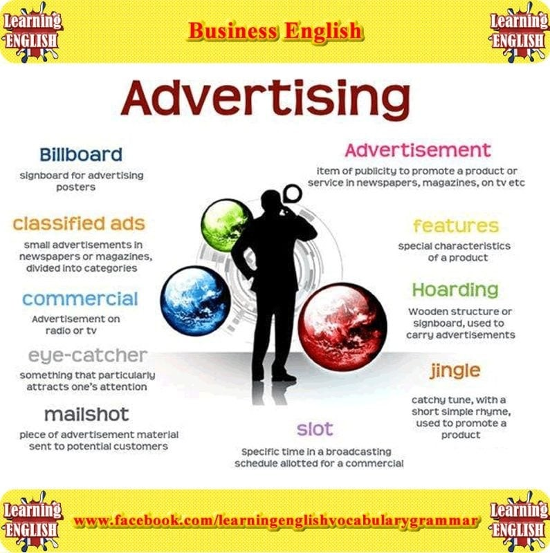 Từ vựng thường gặp trong Topic Advertising IELTS Writing - Speaking