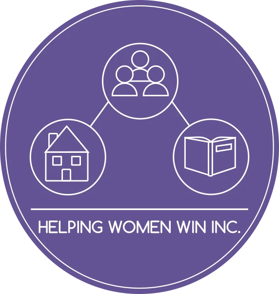 Helping Women Win Inc. Logo