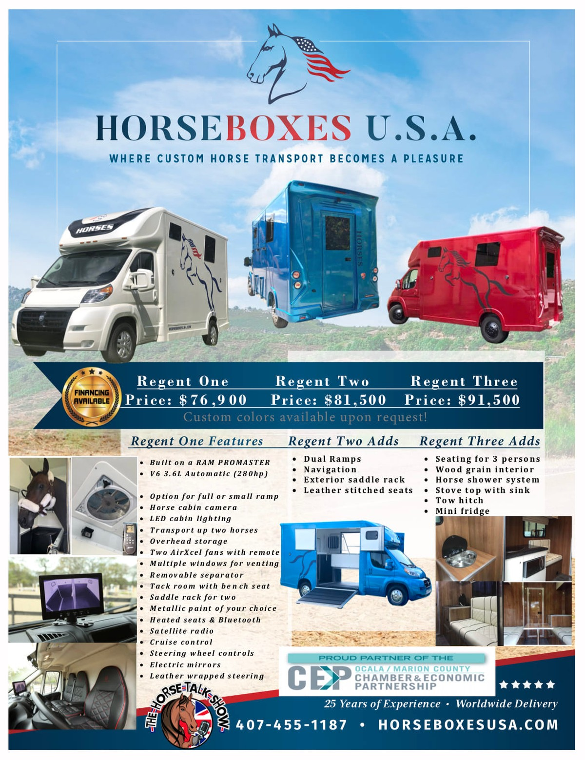Horseboxes for sale.