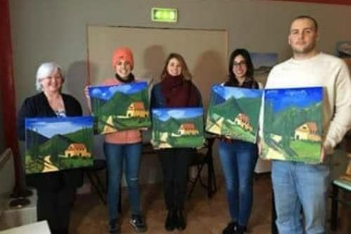 Another successful class at Dingle Art School