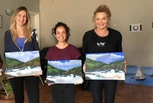 Create your own scene of Dingle at Dingle Art School