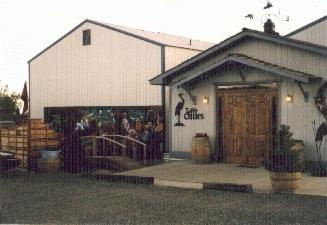Photo showing tefft cellars winery which was ranked in the top 20 in 2007