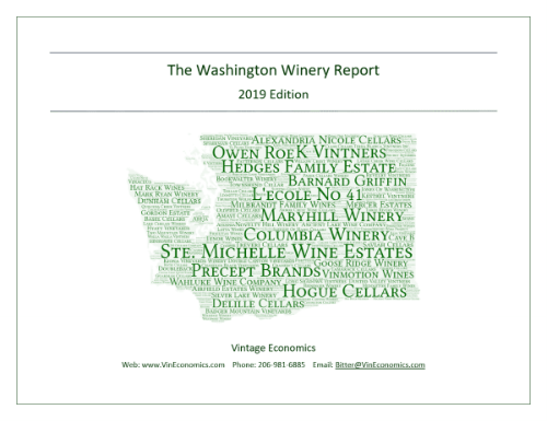 The Washington Winery Report 2019 Edition Cover Image