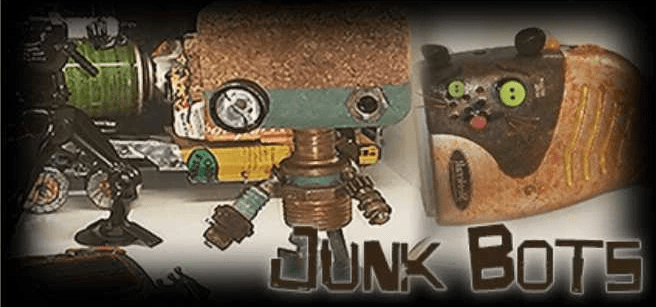 Junk Bots from RePsyched show you how to make art from recycled rubbish