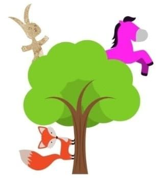 Fox chases bunnypony up treehouse