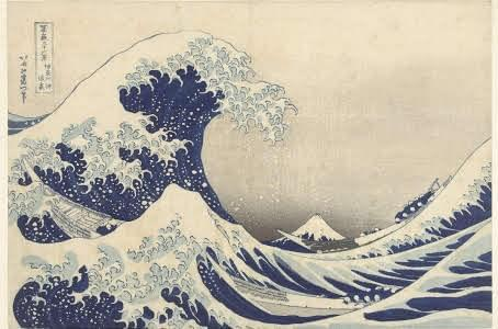Figure 1: The Great Wave off Kanagawa