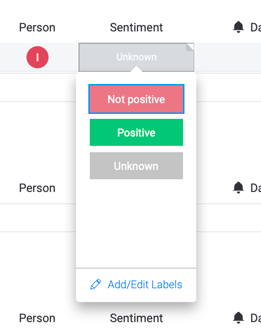 Adding Sentiment status column to add Sentiment analysis to customer communications with monday.com and Bitskout