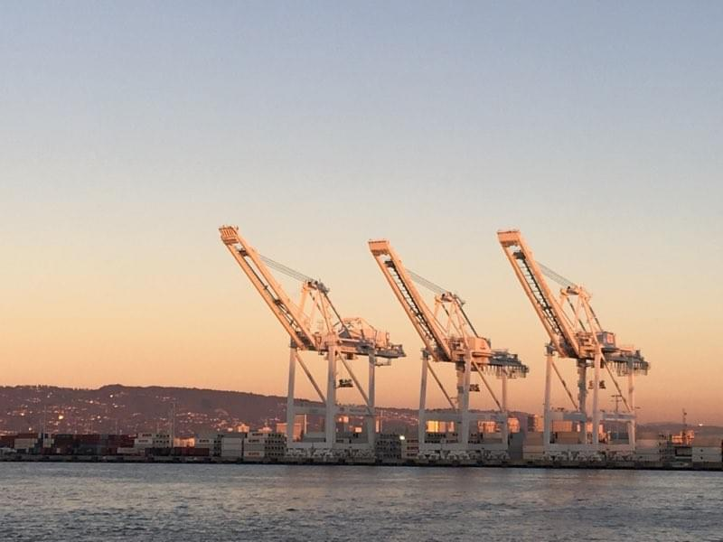Machine Learning (artificial intelligence) for port terminal operations: we predict the dwell time of containers to bring visibility to terminal operators and improve their productivity.