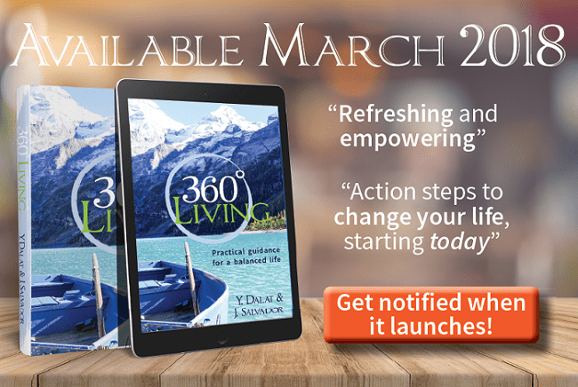 Sign up to get notified when 360 Living launches on Amazon in March 2018