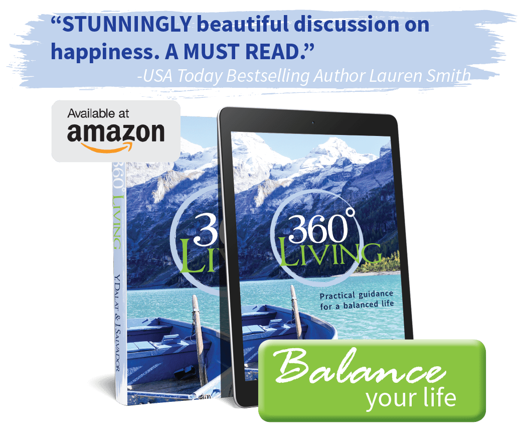 360 Living is now available on Amazon.com (print & ebook)