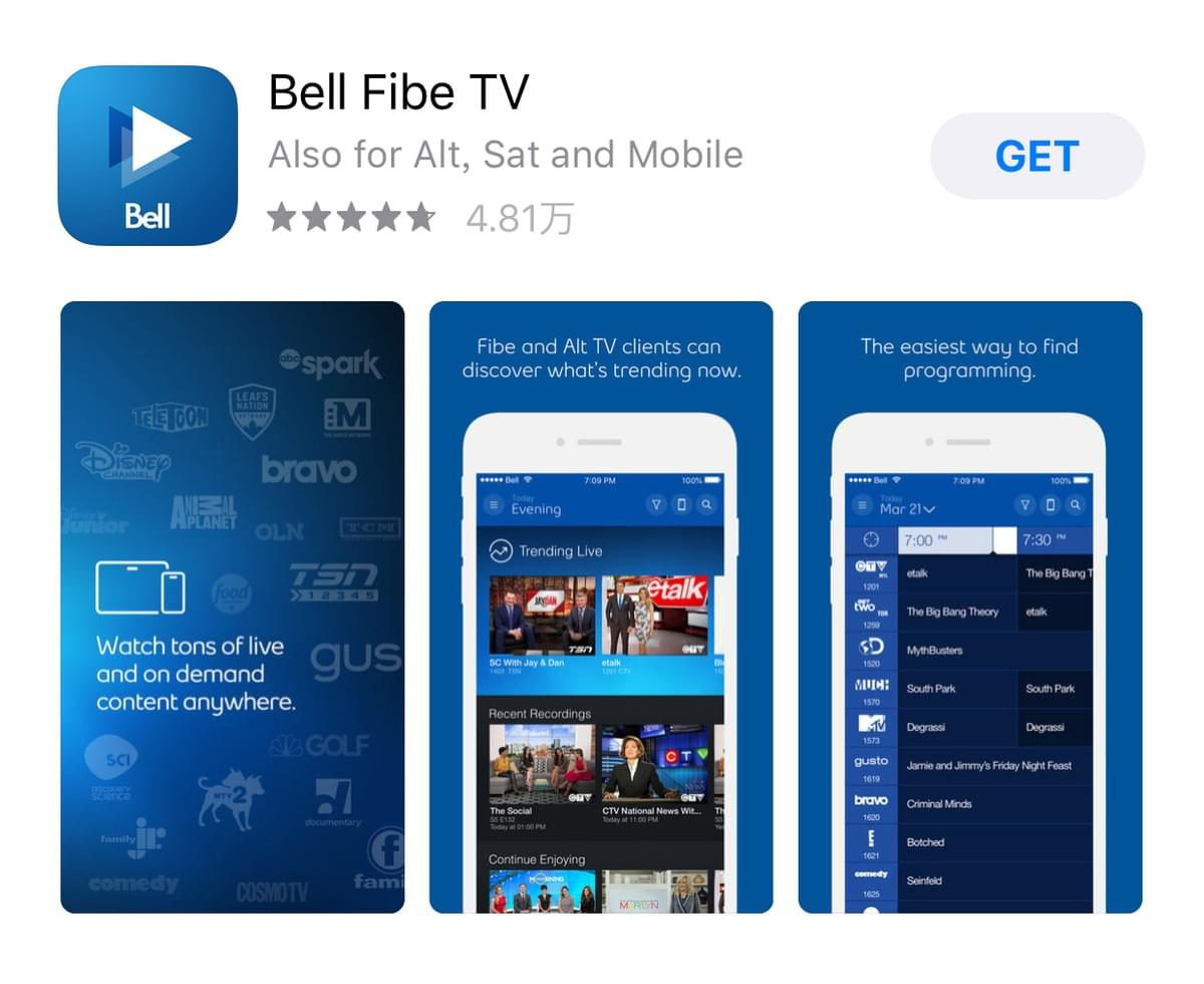 Bell的Alt Tv和Crave Tv有哪些电视节目?Bell Alt Tv Channels
