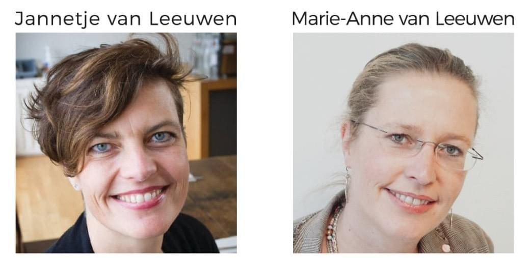 NOSO Journal founders  Jannetje and Marie-Anne