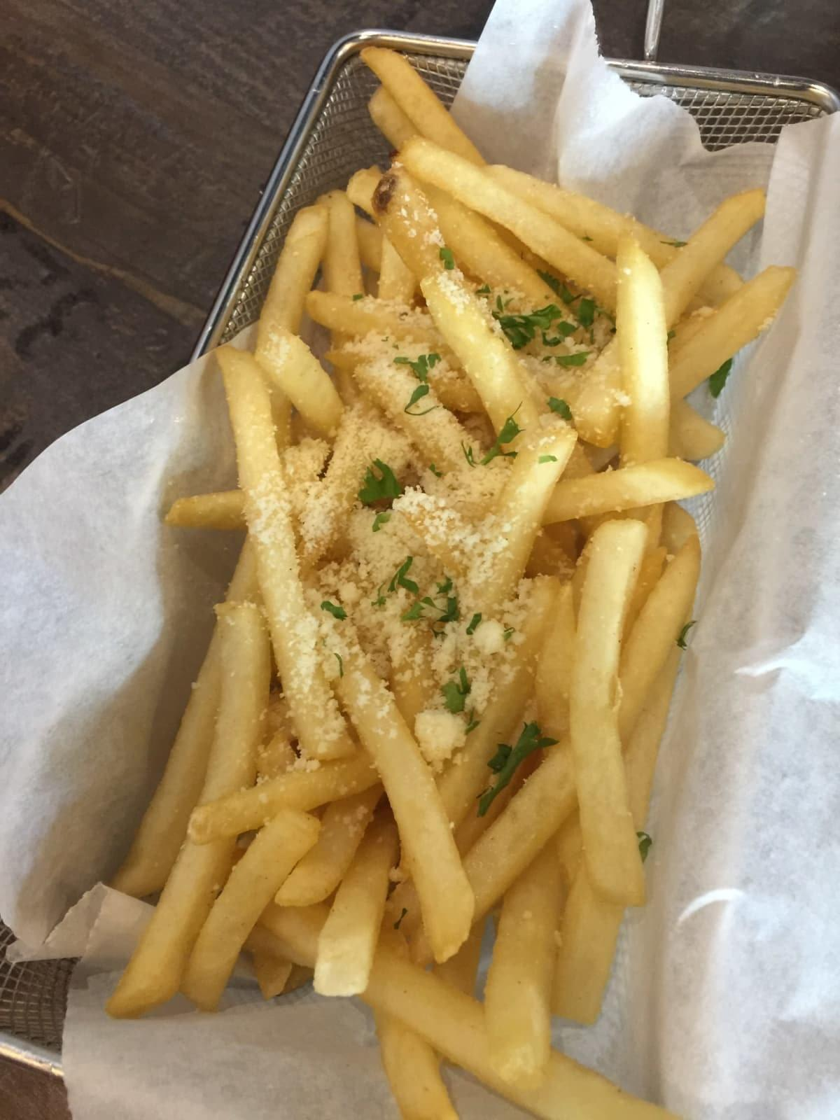 BistOne36 truffle fries